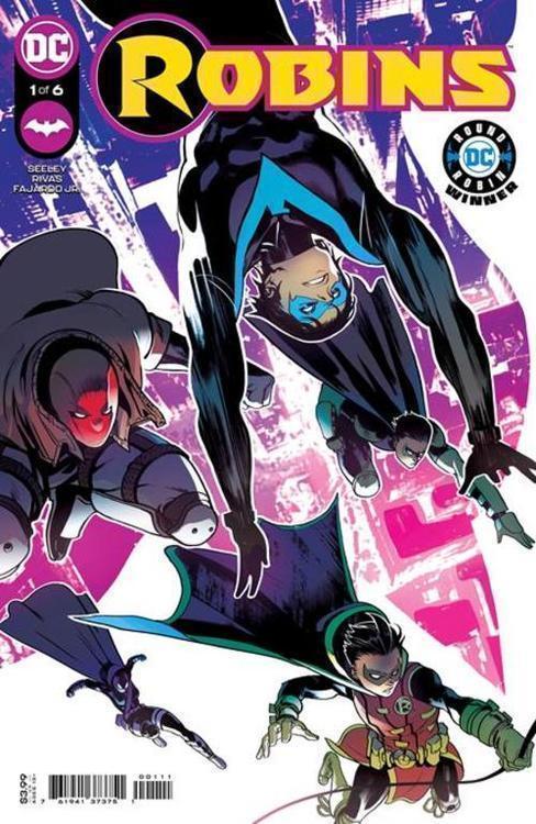 Dc comics robins 20210829