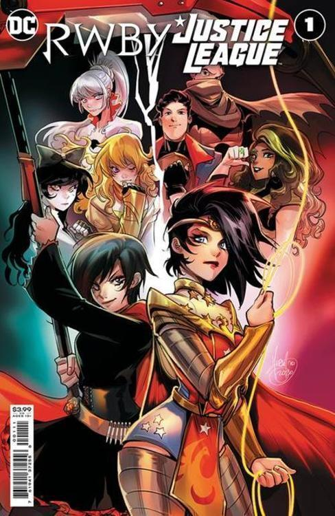 Dc comics rwby justice league 20210126