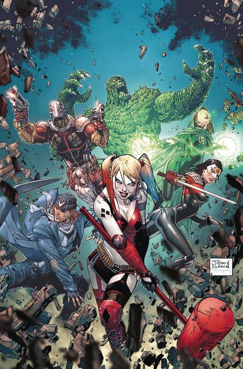 Dc comics suicide squad rebirth deluxe collection hardcover book 02 20180203