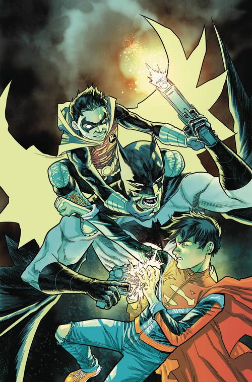 Dc comics super sons of tomorrow tpb rebirth 20180302