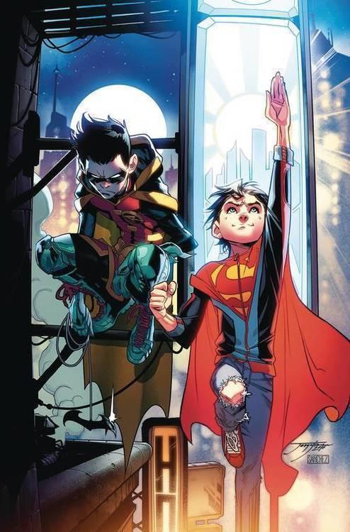Dc comics super sons omnibus hardcover 20180701