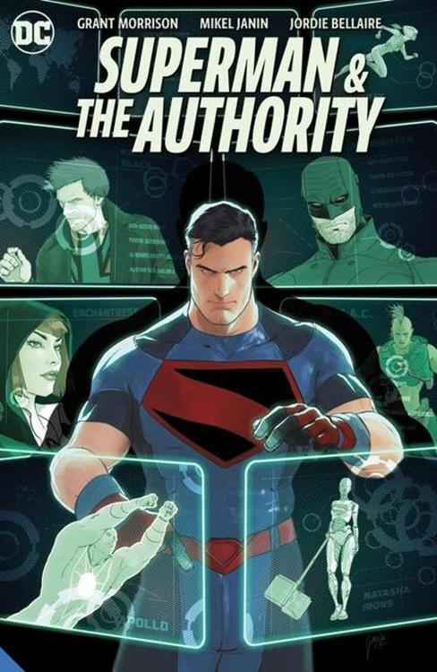 Dc comics superman and the authority hardcover 20210728