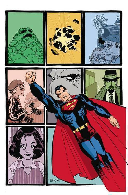 Superman Kryptonite Deluxe Edition Hardcover