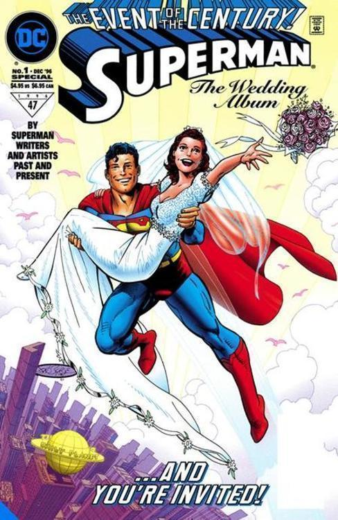 Dc comics superman lois lane the 25th wedding anniversary deluxe edition hardcover 20210502