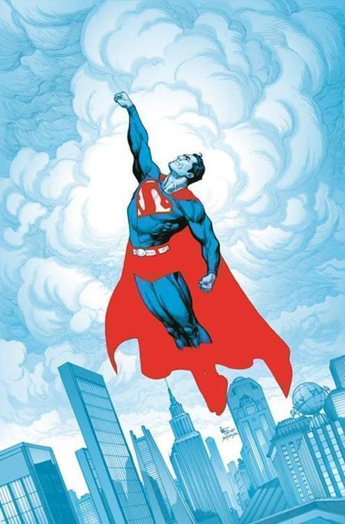 Dc comics superman red blue 20210101