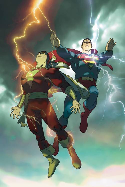 Dc comics superman shazam first thunder deluxe edition hardcover 20180830