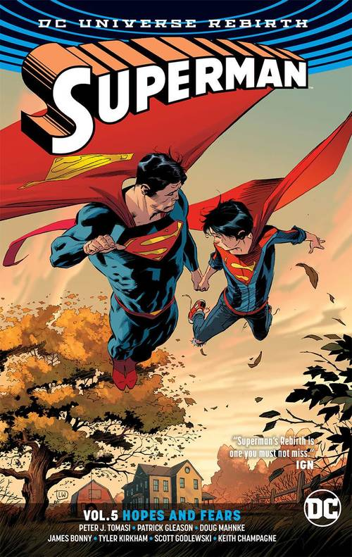 Dc comics superman tpb vol 05 hopes and fears rebirth 20171231