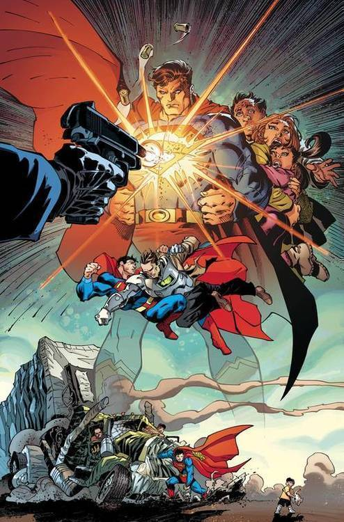 Dc comics superman up in the sky 20190424