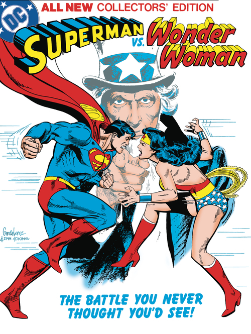 Superman Vs Wonder Woman Tabloid Edition Hardcover