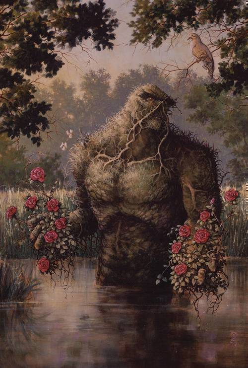 Dc comics swamp thing by nancy a collins omnibus hardcover mature 20190424