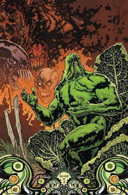 Swamp Thing Protector Of The Green DC Essential Edition TPB