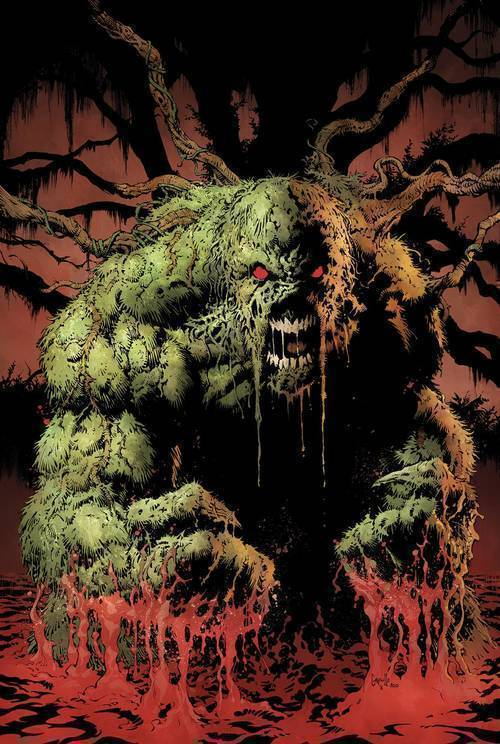 Dc comics swamp things roots of terror deluxe edition hardcover 20190327