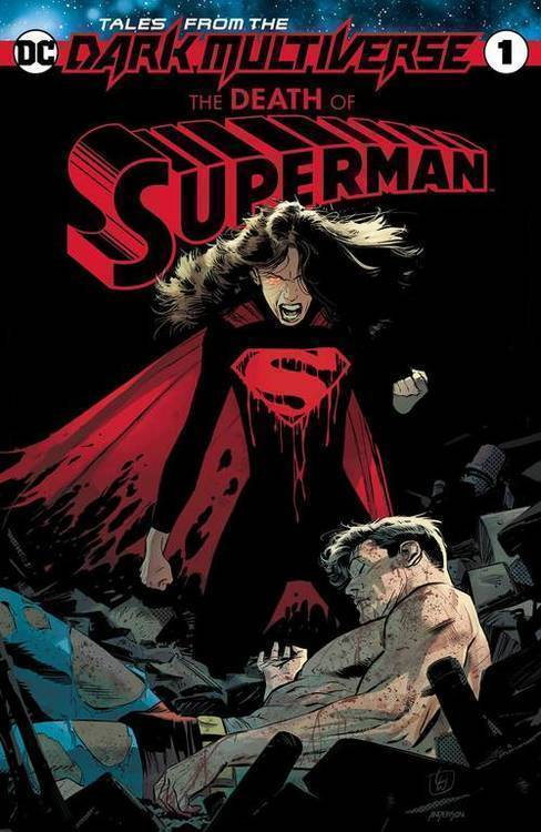 Dc comics tales from the dark multiverse death of superman 20190730