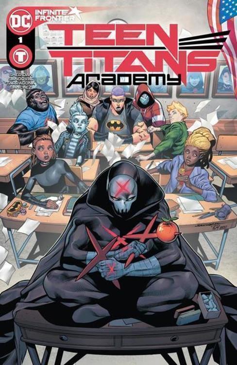 Dc comics teen titans academy 20210101