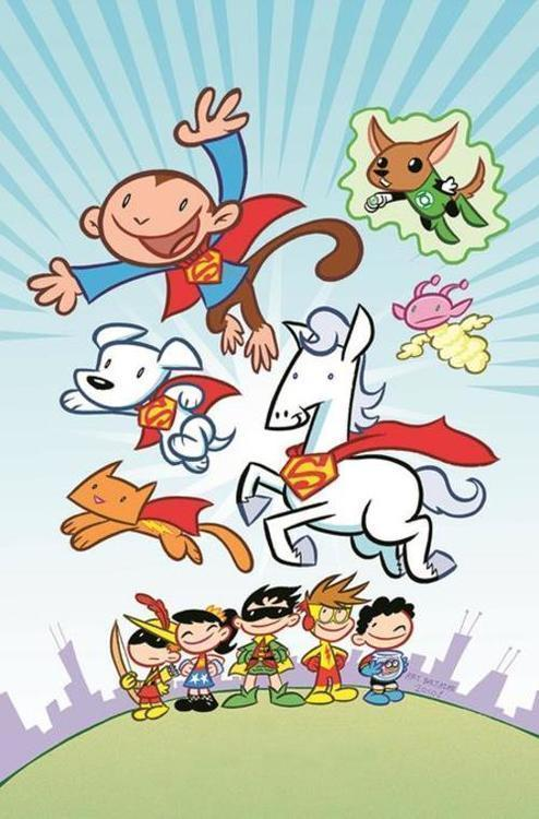 Dc comics tiny titans pet club tpb 20210101