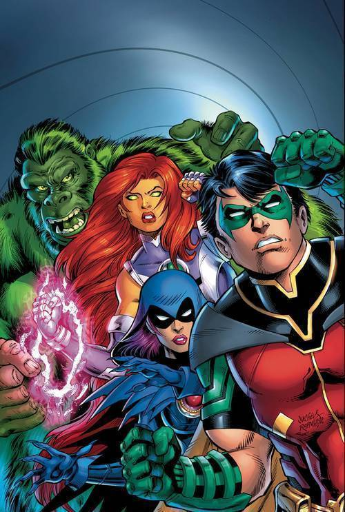 Dc comics titans burning rage 20190529