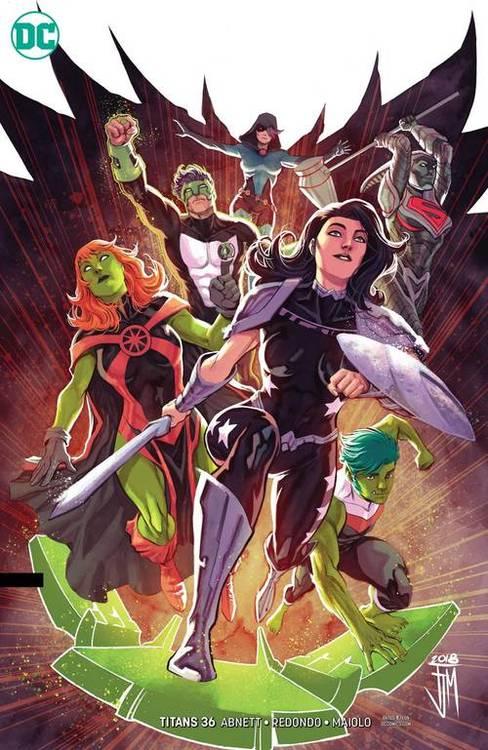 Dc comics titans cover b 20190424 docking bay 94