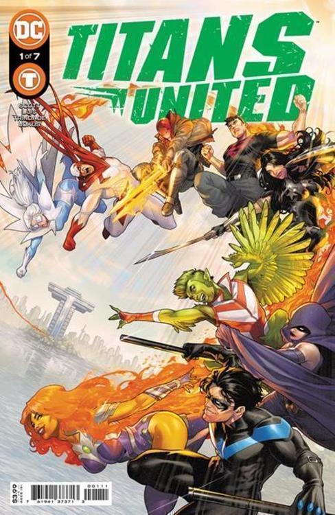 Dc comics titans united 20210630