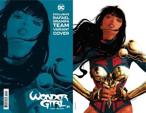 Wonder Girl #1 Team Cover Rafael Grampa Card Stock Variant
