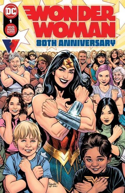 Dc comics wonder woman 80th anniversary 100 page super spectacular 1 one shot cvr a yanick paquette 20210728
