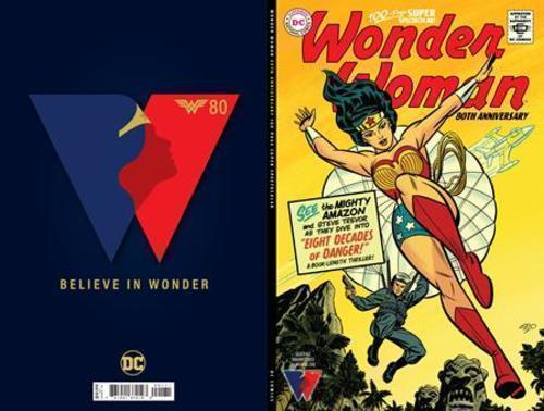 Dc comics wonder woman 80th anniversary 100 page super spectacular 1 one shot cvr g michael cho silver age variant 20210728
