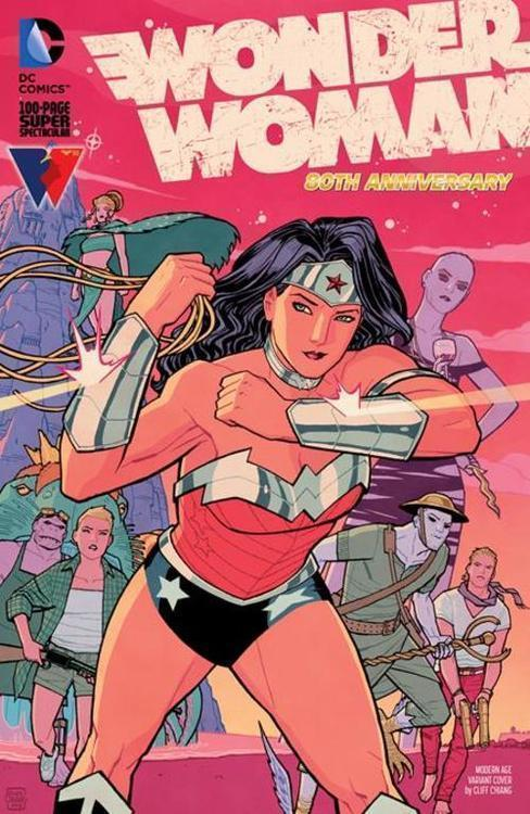 Wonder Woman 80th Anniversary 100-page Super Spectacular #1 (One Shot) Cvr I Cliff Chiang Modern Age Variant