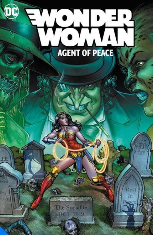Wonder Woman Agent Of Peace TPB Vol 01 Global Guardian