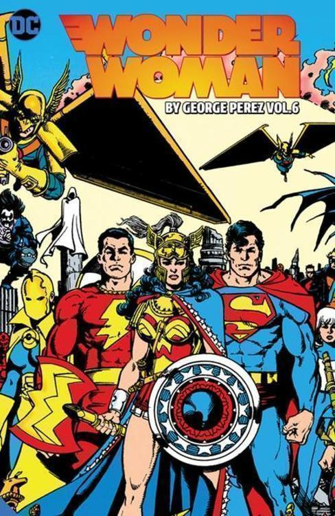 Dc comics wonder woman by george perez tpb volume 06 20210630