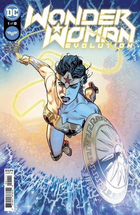 Wonder Woman Evolution
