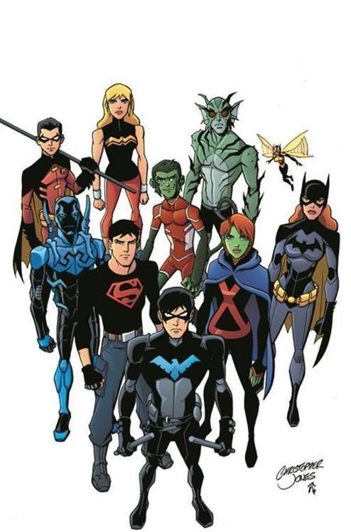 Young Justice Book 2 Growing Up TPB