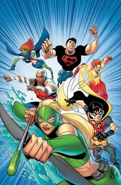 Dc comics young justice the animated series tpb book 1 20190626
