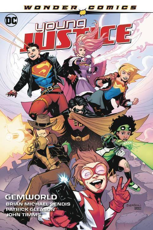 Dc comics young justice tpb volume 01 gemworld 20191227