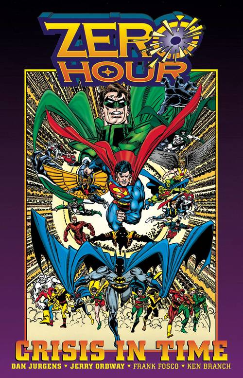Dc comics zero hour crisis in time hardcover 20180203
