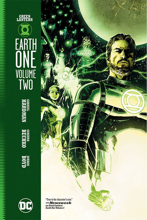 Green Lantern Earth One Hardcover Volume 2