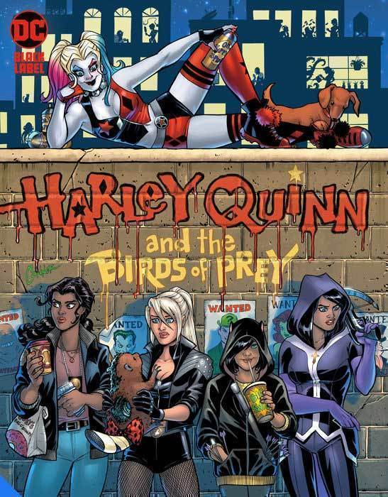 Harley Quinn & The Birds Of Prey Hunt For Harley Hardcover