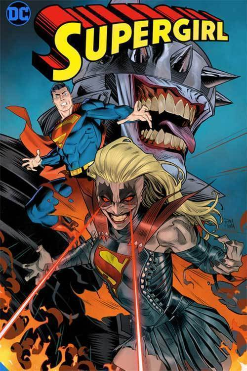 Dc supergirl infectious