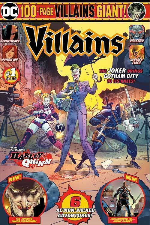 Dc villains giant
