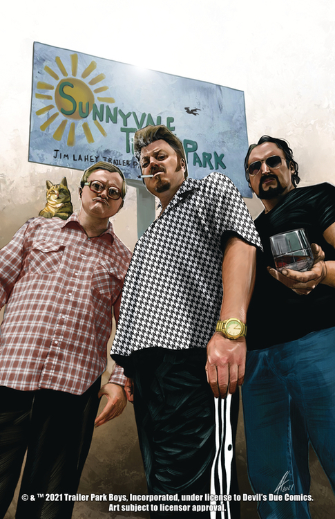 Devils due trailer park boys get a f ing comic book 20210502