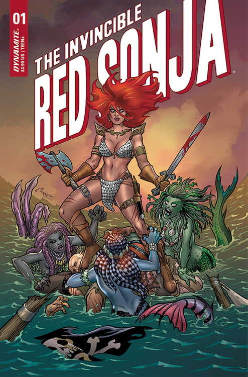 Dynamite invincible red sonja 20210224