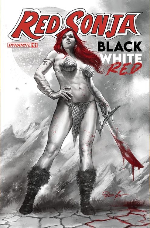 Dynamite red sonja black white red 20210502