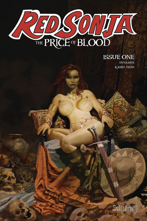 Dynamite red sonja price of blood 1 cvr a suydam 20200924