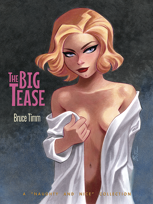 Big Tease Art Of Bruce Timm Softcover (Mature)