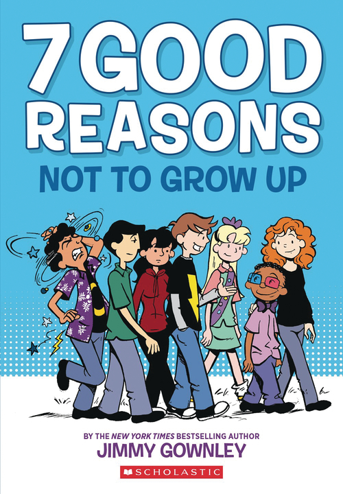 7 Good Reasons Not To Grow Up Graphic Novel