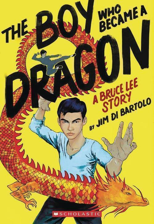 Graphix boy who became a dragon bruce lee story sc gn 20191127