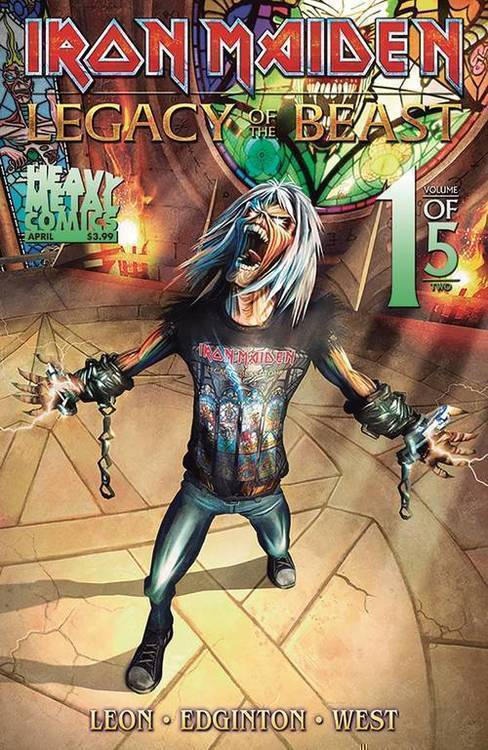 Iron Maiden Legacy of the Beast Vol 2 Night City