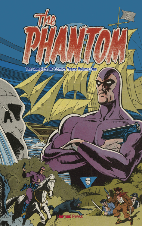 Hermes press complete dc comics phantom hardcover volume 01 20210224