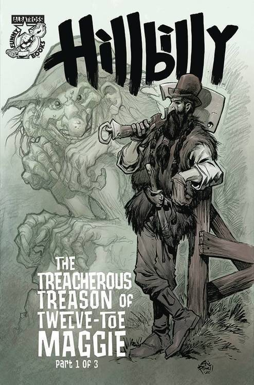 Hillbilly Treacherous Treason 12 Toe Maggie