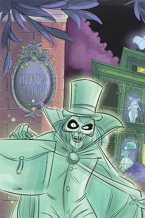 Haunted Mansion Original Graphic Novel TPB