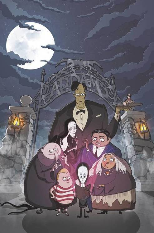 Idw publishing addams family the bodies 20190730