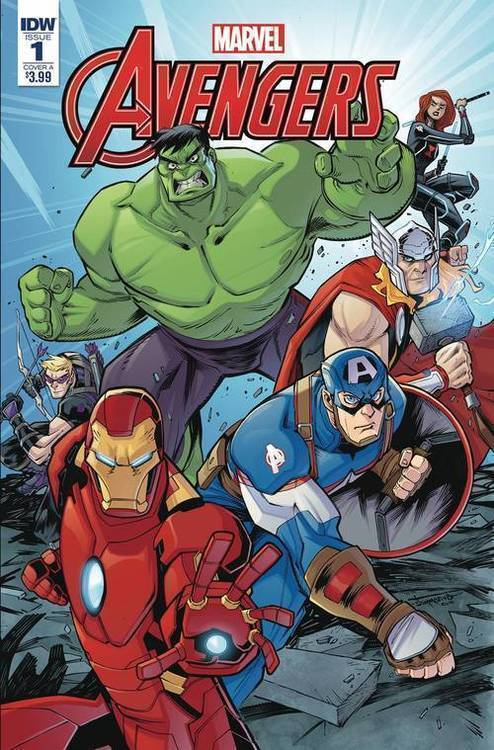 Avengers (IDW) Sommariva